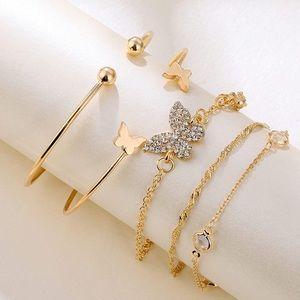 Stackable Gold Bracelets